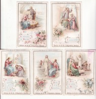 CHOCOLAT D'AIGUEBELLE   Série Complète De 10 Chromos    Vie De Jésus Christ - Aiguebelle