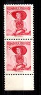 Autriche YT N° 750A En Paire Neufs ** MNH. TB. A Saisir! - 1945-60 Unused Stamps