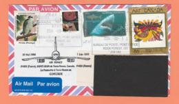 CACHET CONCORDE SUR LETTRE DU CANADA POUR LA FRANCE DE 2004 TIMBRES 1310/1511/1655 - Airplanes