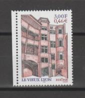 FRANCE / 2001 / Y&T N° 3390 ** : Le Vieux-Lyon (Rhône) X 1 BdF G - Gomme D'origine Intacte - Neufs