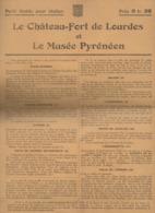 Lourdes /Betharram (65 Hautes Pyrénées) :  Guide Pour Visiter Par LE BONDIDIER   (PPP21077) - Publicités