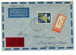 A32414)DDR 615 Auf Brief Mit AK-Stempel - [6] Democratic Republic
