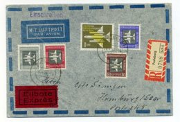 A32416)DDR 609 - 613 Auf Brief Mit AK-Stempel - [6] Democratic Republic