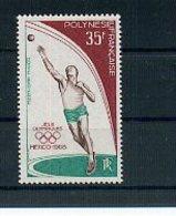 A33091)Olympia 68: Fr. Polynesien 89** - Sommer 1968: Mexico