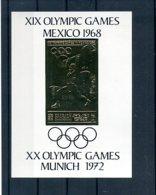 A33171)Olympia 68: Sharjah 491 B** Goldblock - Zomer 1968: Mexico-City