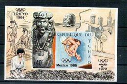 A33179)Olympia 68: Tschad Bl 11 B** - Zomer 1968: Mexico-City