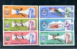 A33185)Olympia 68: Togo 626 - 631 B** - Zomer 1968: Mexico-City