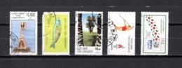 Chipre  ( Turquía )  1996  .-  Y&T Nº  387-389-394-399-402    (  389   Falta  Punta  ) - Chipre (Turquía)