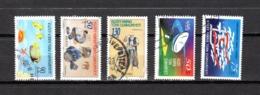 Chipre  ( Turquía )  1998  .-  Y&T Nº  442-449-451-453-455 - Chipre (Turquía)