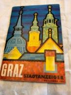 Graz (livre De 42 Pages De 10 Cm Sur 14,5cm) - Dépliants Turistici