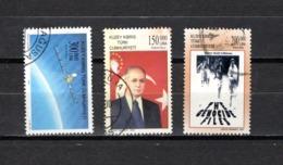 Chipre  ( Turquía )  2000-2001  .-  Y&T Nº  476-481-512 - Chipre (Turquía)