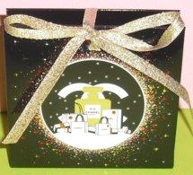 CHANEL * CHRISTMAS / NOEL *  PARFUM MINIATUR  * NEW 2019 * POSTAGE + !!!!! - Cartes Parfumées