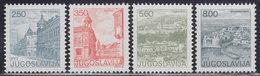 Yugoslavia 1981 Definitive - Tourism, MNH (**) Michel 1878-1881 - 1945-1992 République Fédérative Populaire De Yougoslavie