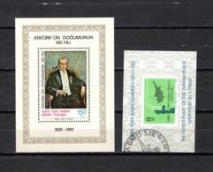 Chipre  ( Turquía )  1979-81  .-  Y&T Nº  1-2   Blocks - Chipre (Turquía)