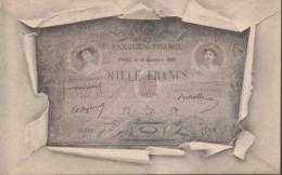 REPRESENTATION BILLET DE MILLE FRANCS - Monete (rappresentazioni)
