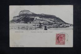GIBRALTAR - Affranchissement De Gibraltar Sur Carte Postale Pour La France En 1907 - L 46815 - Gibraltar