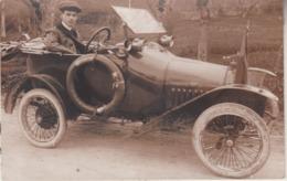 Oldtimer - Carte-photo - Photocard - Fotobel - Automobiles
