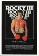 Boxe Au Cinéma : Silvester Stallone Dans Rocky III - Le Grand Challenge. CPSM. - Schauspieler