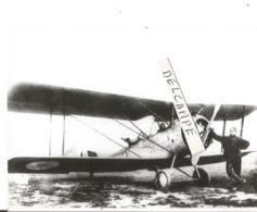 PHOTO AVION HANRIOT A IDENTIFIER 10X7CM - Aviation
