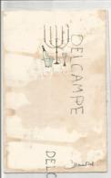 Menu De Communion De Chantal Le 30 Mai 1965. Taché De Vin - Menus