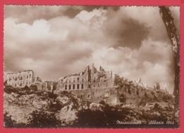 CPA * MONTECASSINO  * 1944 * ABBAZIA *Ruines De L'Abbaye Du Mont Cassin En 1944 *  VOIR Scan Recto-Verso *SUP** - Other Cities