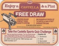BEERMAT - CASTELLA - TAKE THE SPORTS QUIZ CHALLENGE - Bierviltjes
