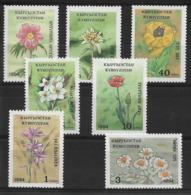 KYRGYZSTAN 1994 FLOWERS  MNH - Altri