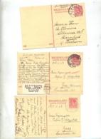 Carte Postale 7 1/2 C Reine Cachet Zeist Amsterfam Laren - Material Postal