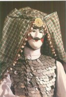 Cpa -    Musée Du Carnaval Et Du Masque De Binche  , Danseur En Foustanell   AH324 - Museum