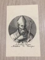 Santino S. Emiliano Vescovo Protettore Di Faenza (ra) - Santini