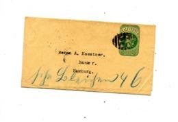 Bande Journal 1/2 P Reine Cachet - Interi Postali