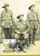 34602. Tarjeta Maxima ALBANY (Australia) 2014. OUR BOYS. World War . Australian Soldiers - Militares