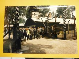 Photographie Presse François Mitterrand,Pologne Lot C,année 1989,très Bel état,format 24X16cm,envoi En Lettre économique - Personnes Identifiées