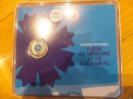 2 Euros Commémo. BU France 2018 - Armistice Et Bleuet - Francia