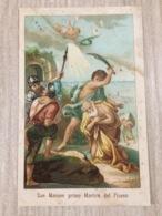 Santino San Marone Primo Martire Del Piceno - Devotion Images