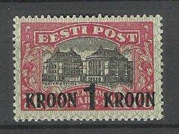 Estland Estonia 1930 Michel 87 * - Estland