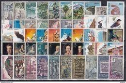 ESPAÑA 1973 Nº 2117/2165 AÑO NUEVO COMPLETO,50 SELLOS - España