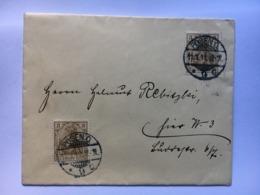 GERMANY 1911 Cover Posen 6 Pf Rate - Deutschland