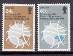 Australia MNH Michel Nr 770/71 From 1981 / Catw 1.30 EUR - 1980-89 Elizabeth II