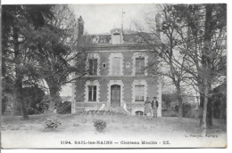 SAIL LES BAINS - Château Moulin - France