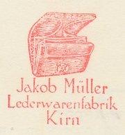 Meter Card Germany 1955 Leather Goods - Wallet - Kostüme