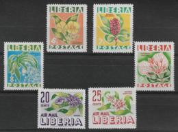 LIBERIA 1955 Flowers MNH - Altri
