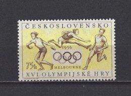 Tchécoslovaquie: 857 **  Melbourne 56 - Estate 1956: Melbourne