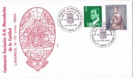 34610. Carta LINARES (Jaen) 1984. Fundacion Hermanas Mercedarias. La Merced - 1931-Hoy: 2ª República - ... Juan Carlos I