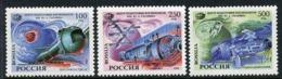 RUSSIA 1994 Space: Gagarin Training Centre MNH / **.  Michel 377-79 - 1992-.... Föderation