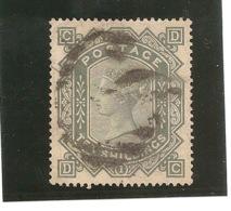 VICTORIA  10 SHILLING 1867  SG N°44a - 1840-1901 (Viktoria)