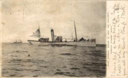"RARE Navire HOPITAL ""ALPHA "" --""Royal National Mission To Deep Sea Fishermen HOSPITAL STEAMER - Altri"