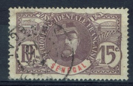 Senegal (French Colony), 15c., Louis Faidherbe, Governor Of Senegal, 1906, VFU - Used Stamps