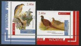 "GEORGIA /GEORGIEN /LA  GÉORGIE -EUROPA 2019 -NATIONAL BIRDS.-""AVES -BIRDS -VÖGEL -OISEAUX""- SERIE De 2 V. - CH - C - 2019"