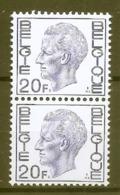 BELGIE * Nr 1587 * Postfris Xx * POLY PAPIER - 1970-1980 Elström